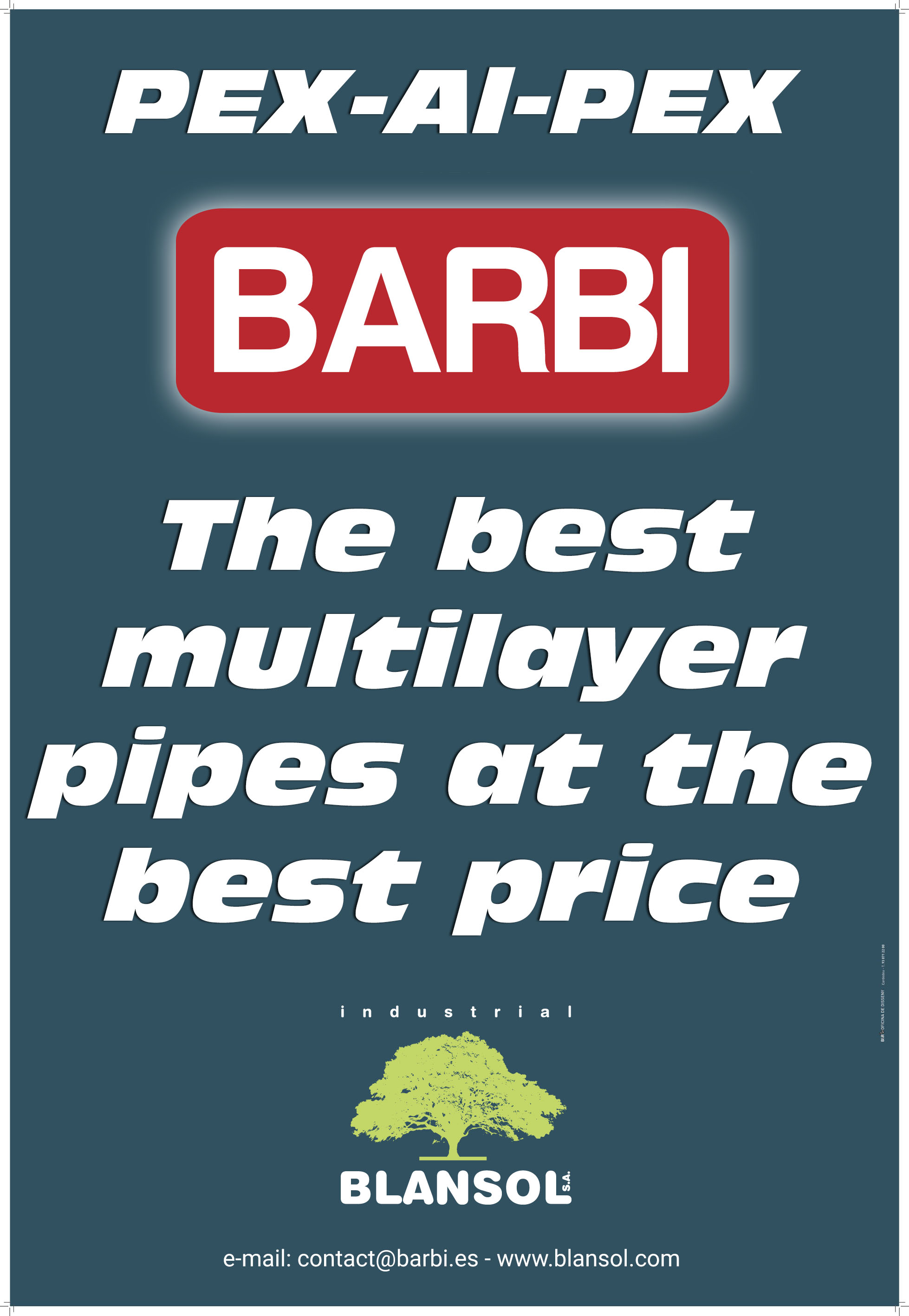 Multilayer PEX-Al-PEX pipes  Barbi