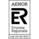 Logo Aenor Empresa registrada