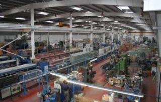 Vista general nave de fabricación de tuberías